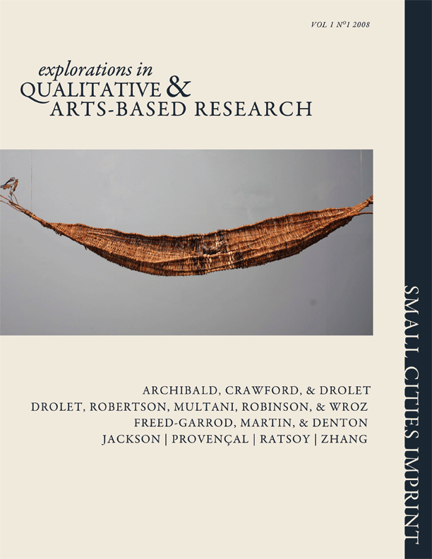 EXPLORATIONS in QUALITATIVE & ARTS-BASED RESEARCH